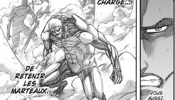 rainer Attack on Titan Chapitre 137