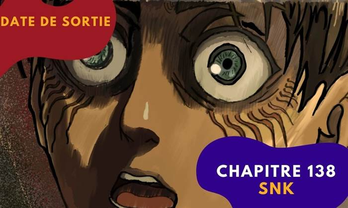 chapitre 138 snk date de sortie