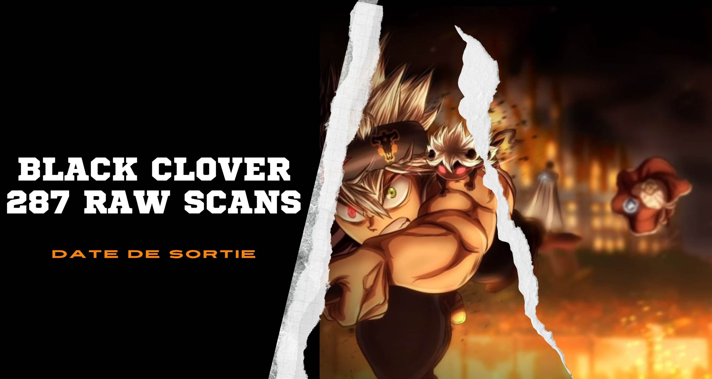 Black Clover 287 raw scans