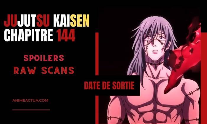 Chapitre 144 Jujutsu Kaisen