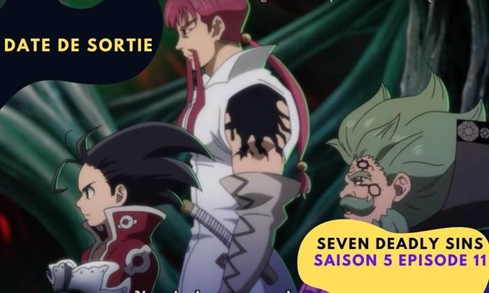 Seven Deadly Sins Saison 5 Episode 11