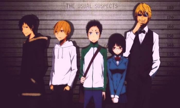 Durarara Top 10 des anime de gangsters