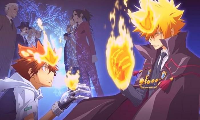 Katekyo Hitman Reborn Top 10 des anime de gangsters
