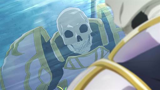 Skeleton Knight in Another World date sortie
