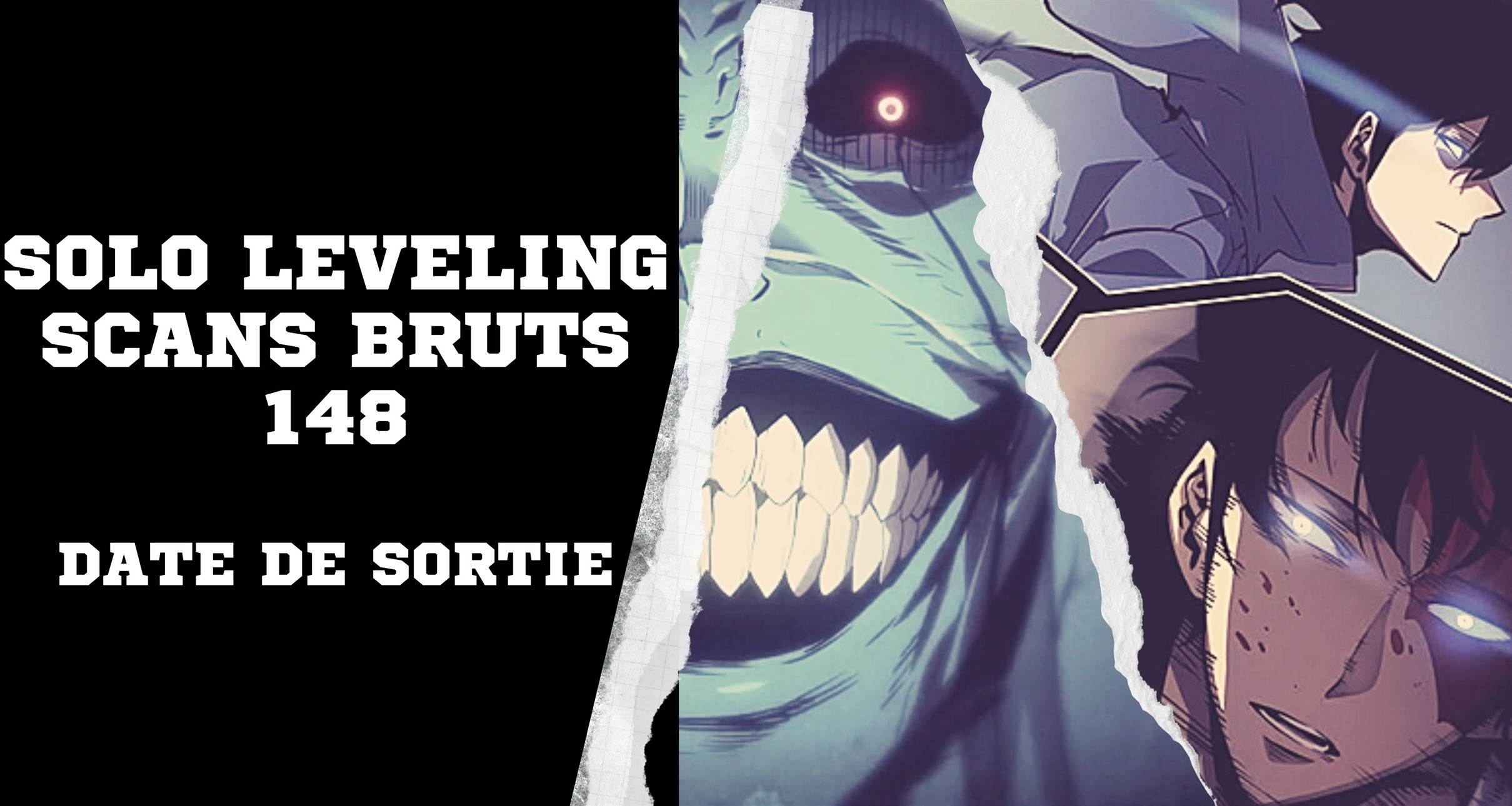 Solo Leveling Scans Bruts 148