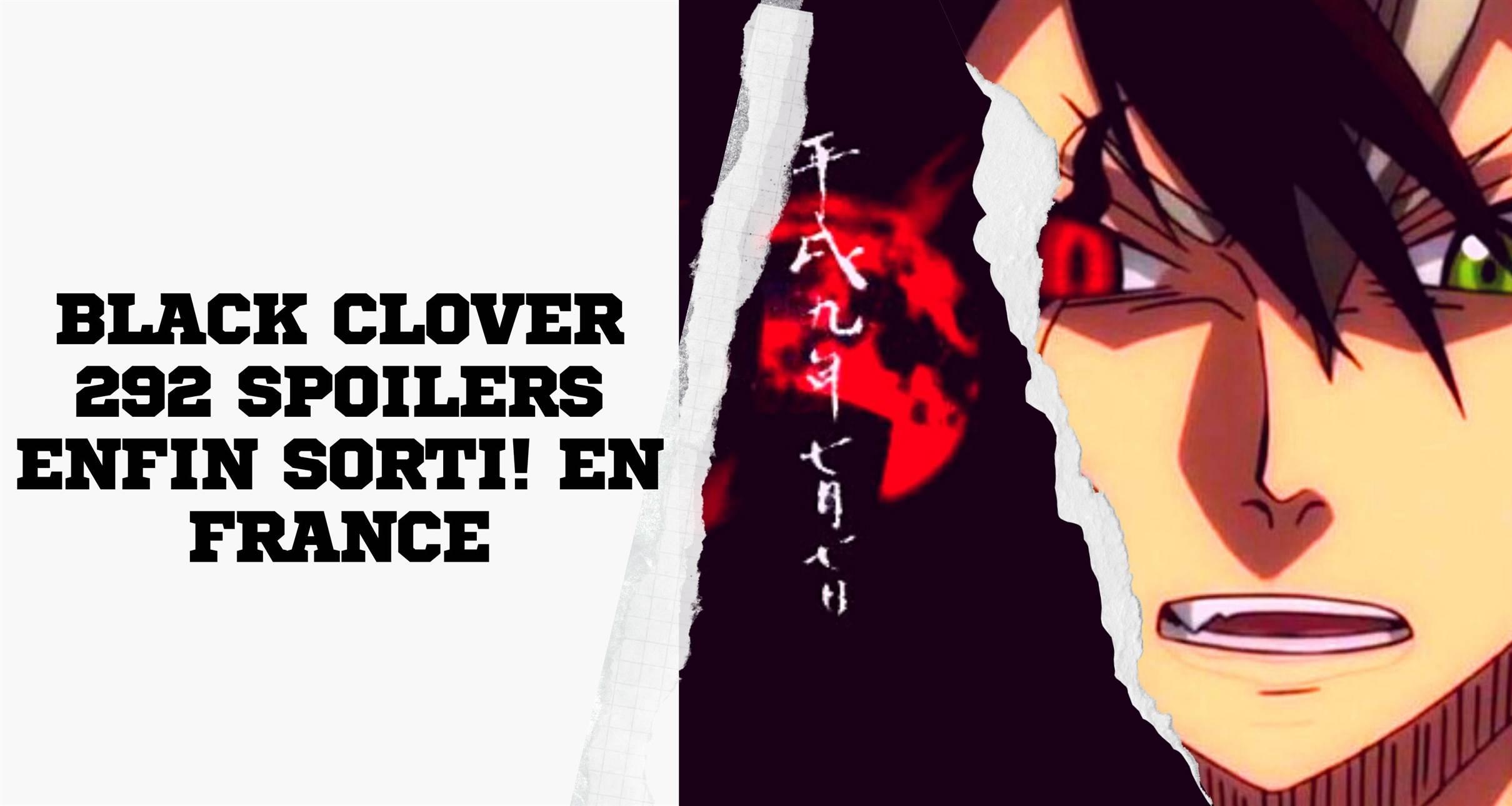 Black Clover 292 Spoilers