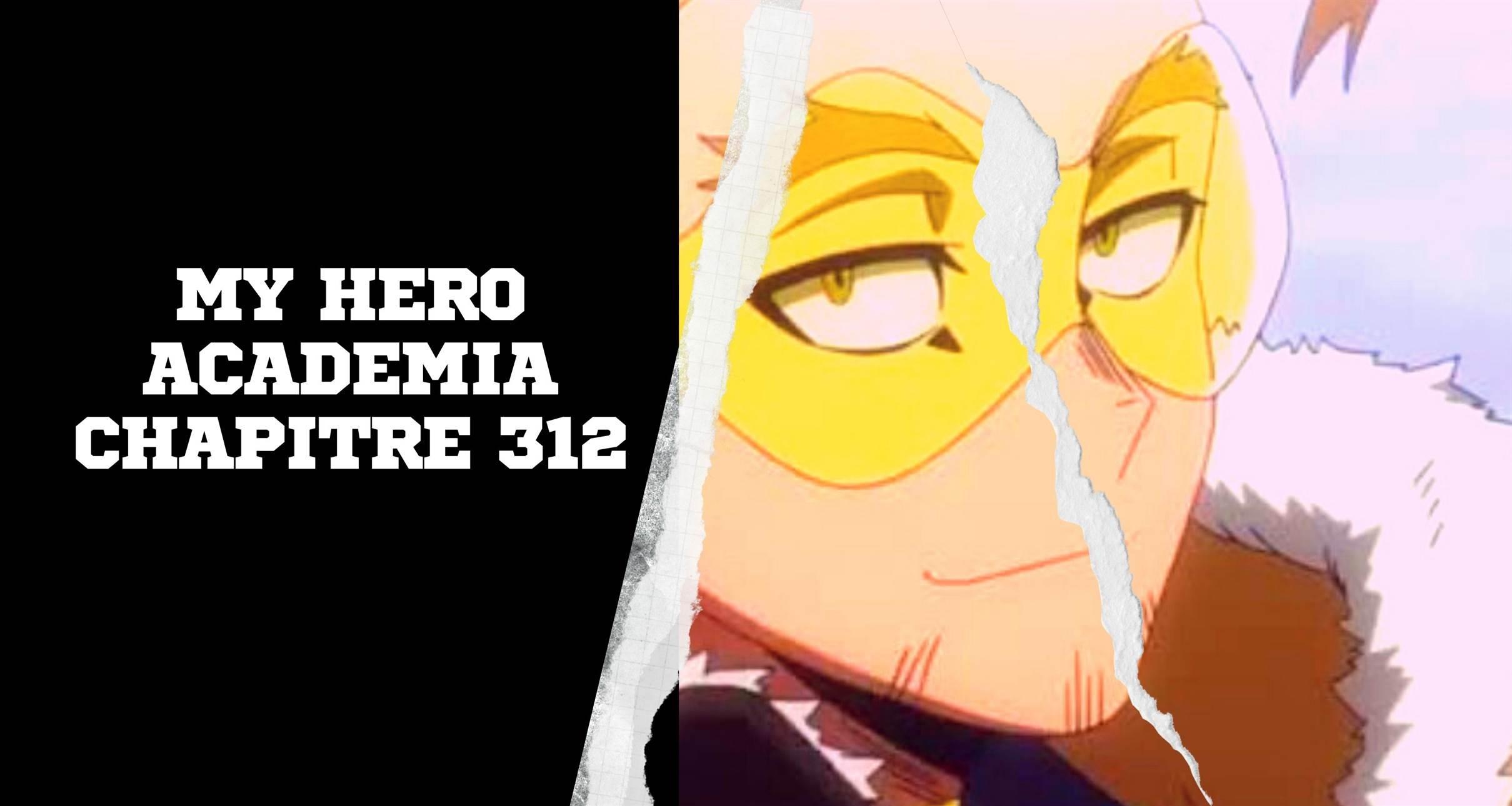 My Hero Academia Chapitre 312