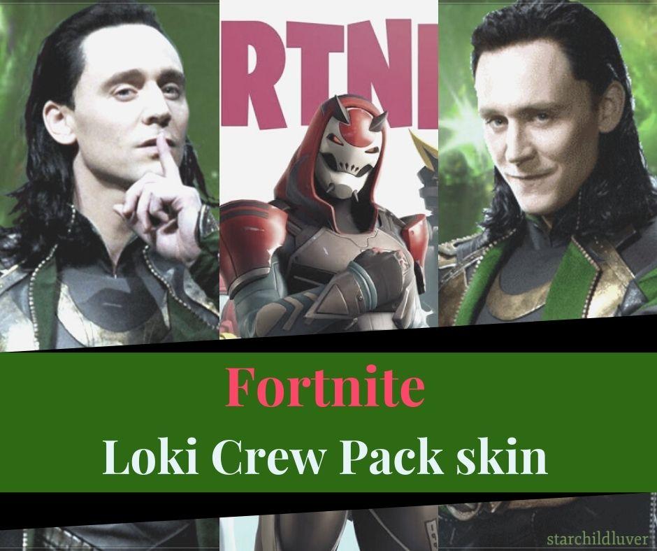 Fortnite Loki Crew Pack skin