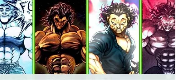 personnages les plus forts de Baki